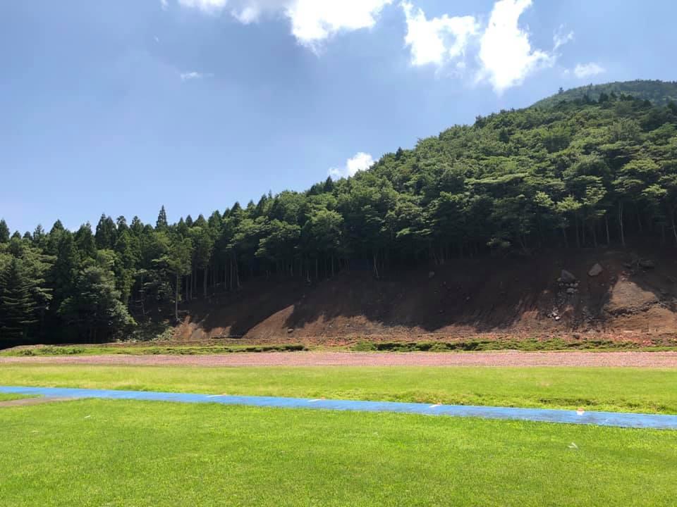須山クレー射撃場(トラップ射場)